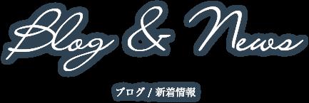 ブログ・新着情報